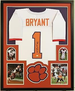 Martavis Bryant Signed Custom Framed Clemson Tigers Orange Jersey 2 - JSA Certified