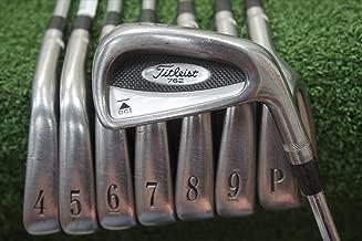 Titleist Dci Black 762 Right-Handed Iron Set Steel Stiff