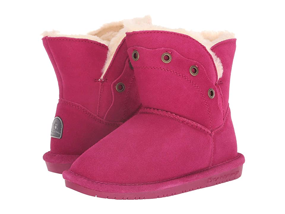 Bearpaw Kids Gypsy (Little Kid/Big Kid) (Pom Berry) Girls Shoes