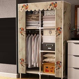 LyMei Armoire de Rangement, Armoire Pliante Portable Armoire Rangement Vêtements Armoire de Rangement, penderie en Tissu A...