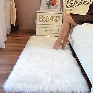 Best white velvet rug Reviews