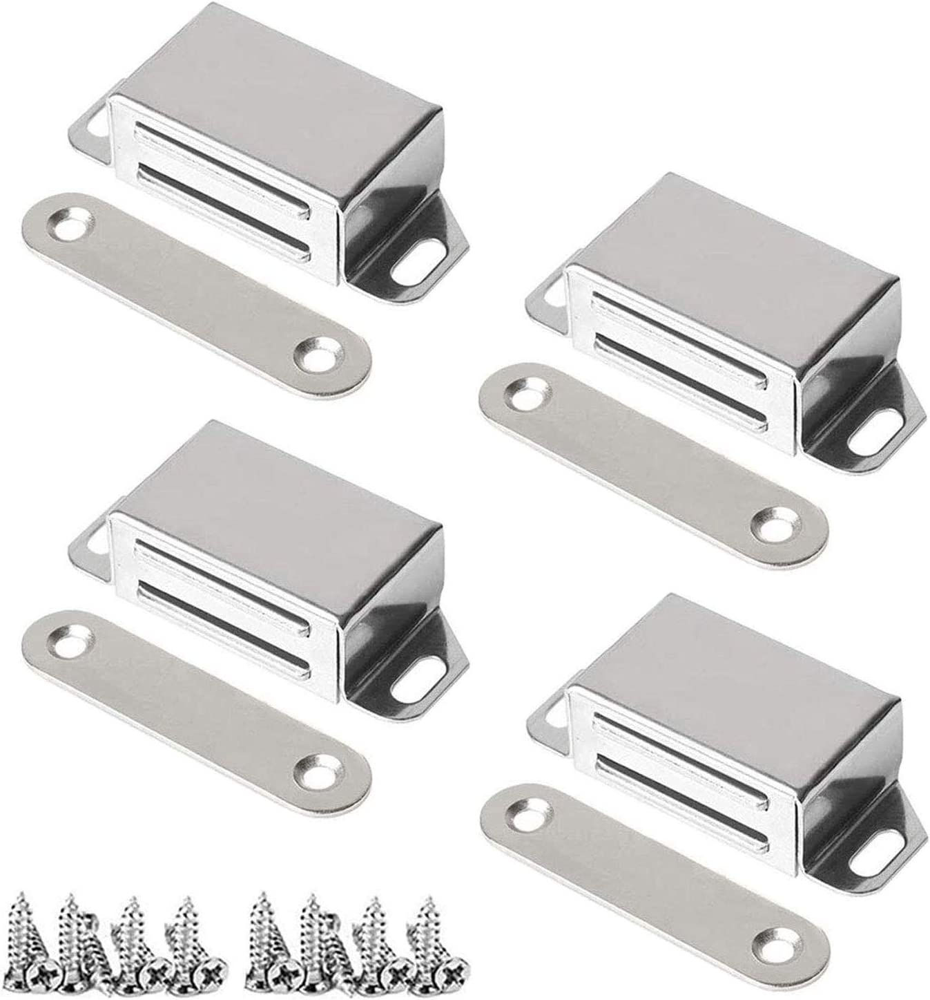 Magnetic Door Catch Cheap mail Max 71% OFF order sales 20lbs Pulling Cat Cabinet Magnet Force