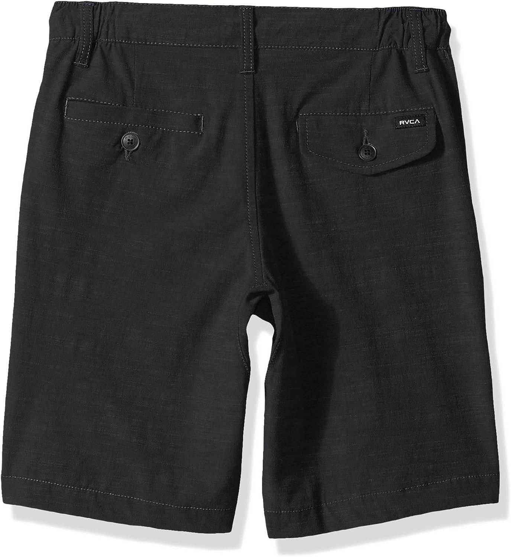 RVCA Boys' Big Time Coastal Solid Hybrid Short