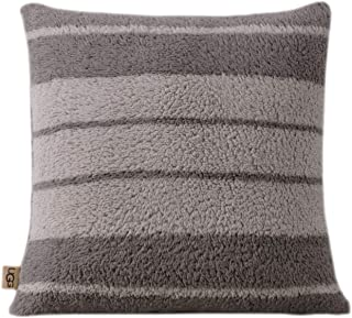 """UGGErinaDecorative Throw Pillow- 20"""" x 20"""" - Square Accent Pillow - Seal"""