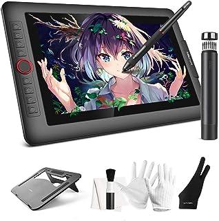 XP-Pen 液タブ 13.3インチ 液晶ペンタブレット 60度傾き検知 フルラミネートIPSディスプレイ き検知 8個エクスプレスキー ペイントソフト付属 Artist 13.3 Pro