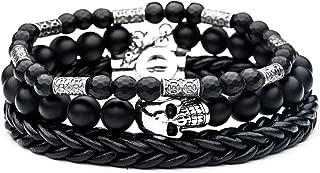 Best boy leather bracelets Reviews