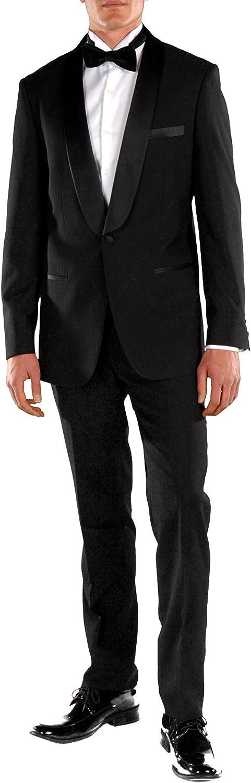Ferrecci Men's Falls Slim Fit Shawl Lapel 2pc Tuxedo