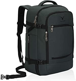 Hynes Eagle Travel Backpack 40L Flight Approved Carry on Backpack Grey 2018
