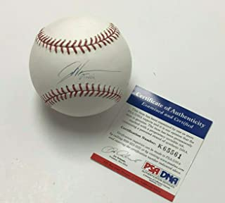 Dontrelle Willis Autographed Baseball - Major League * K65561 - PSA/DNA Certified - Autographed Baseballs