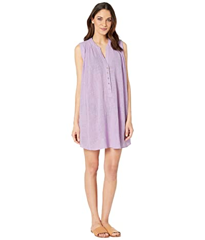 Seafolly Swing Beach Shirt Cover-Up (Lilac) Women