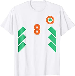 Retro Ireland Soccer Jersey EIRE Football Tee Shirt away 8