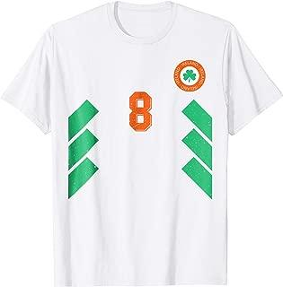 Retro Ireland Soccer Jersey EIRE Football Tee Shirt away 8