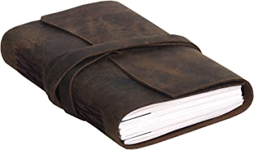 refillable leather wrap journal