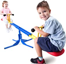 Grow'n Up Heracles Seesaw, 360 Degrees Rotation Teeter-Totter, Backyard Playground Outdoor seesaw, Sturdy & Durable outdoo...