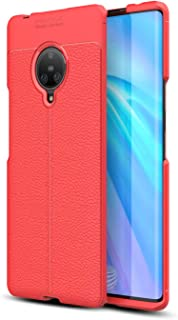 TenYll Case for vivo NEX 3, Ultra-Thin Durable Premium Soft TPU vivo NEX 3 Cover Case Fit for vivo NEX 3 -Red