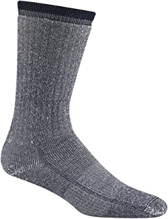 Men's Merino Wool Comfort Hiker midweight Crew Length Socks