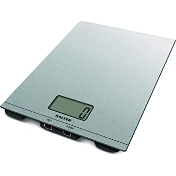 Salter Ghost Digital Kitchen Scale Electric Food Weighing Scales For Cooking And Baking Hidden Until Lit Easy To Read Lcd Display Metric Imperial Weight Measurements 15 Year Guarantee White