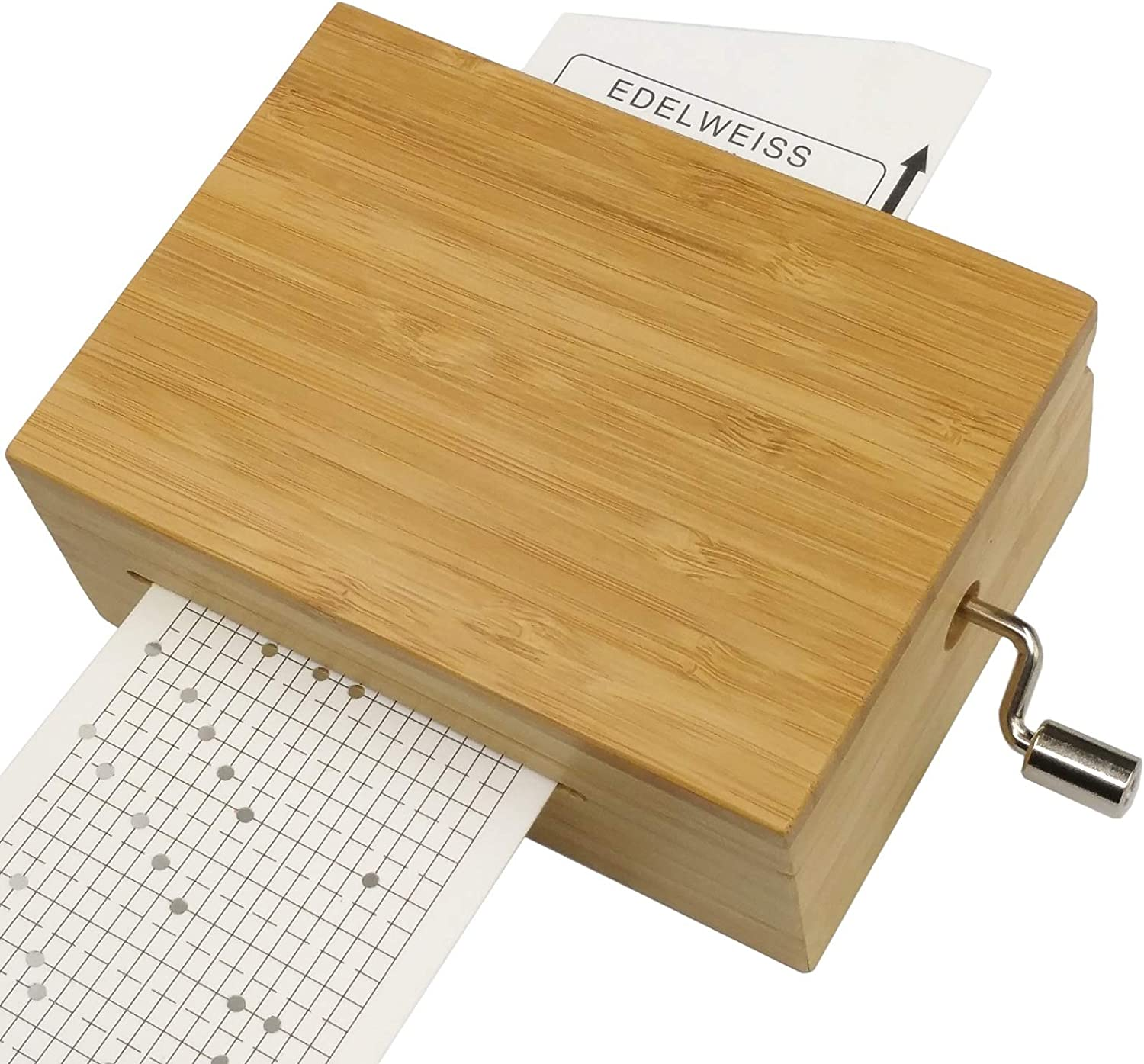 falado 20 Discount NEW before selling ☆ mail order Note Bamboo Music Box with Tool kit