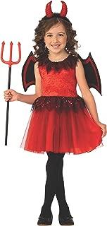 Rubies Devil Girls Child Red Demon Costume