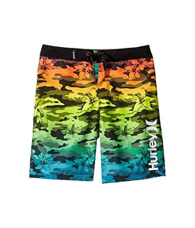 Hurley Kids Floral Camo Boardshorts (Toddler/Little Kids) (Multi) Boy