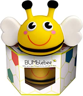 Bumblebee Baby and Toddler Glowing Waterproof Bath Time Toy, Sensory Distraction During Diaper Changing, Changing Station Essential, Nightlight