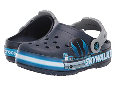 Crocs Kids Fun Lab Lights Luke Skywalker (Toddler/Little Kid) (Navy) Kid