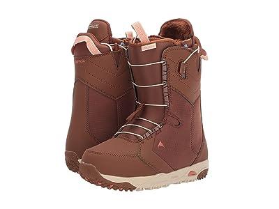 Burton Limelight Snowboard Boot (Brown Sugar) Women