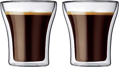 Bodum Assam Double Wall Glass, 0.2 litre Box, 2 piece - BD-4555-10