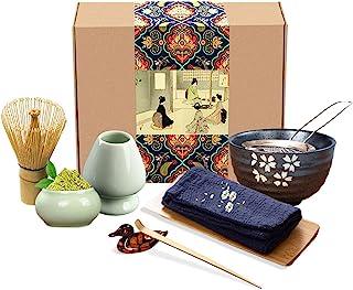 Artcome Japanisches Matcha Teeservice Schneebesen Set, Tradi