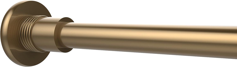 Allied Brass 1099G-BBR Shower Curtain Rod Brackets, Brushed Bronze
