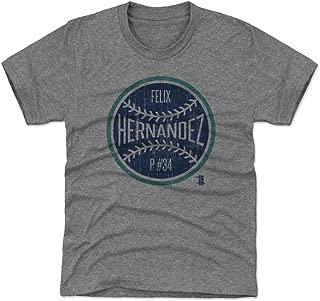 Felix Hernandez Seattle Baseball Kids Shirt - Felix Hernandez Ball