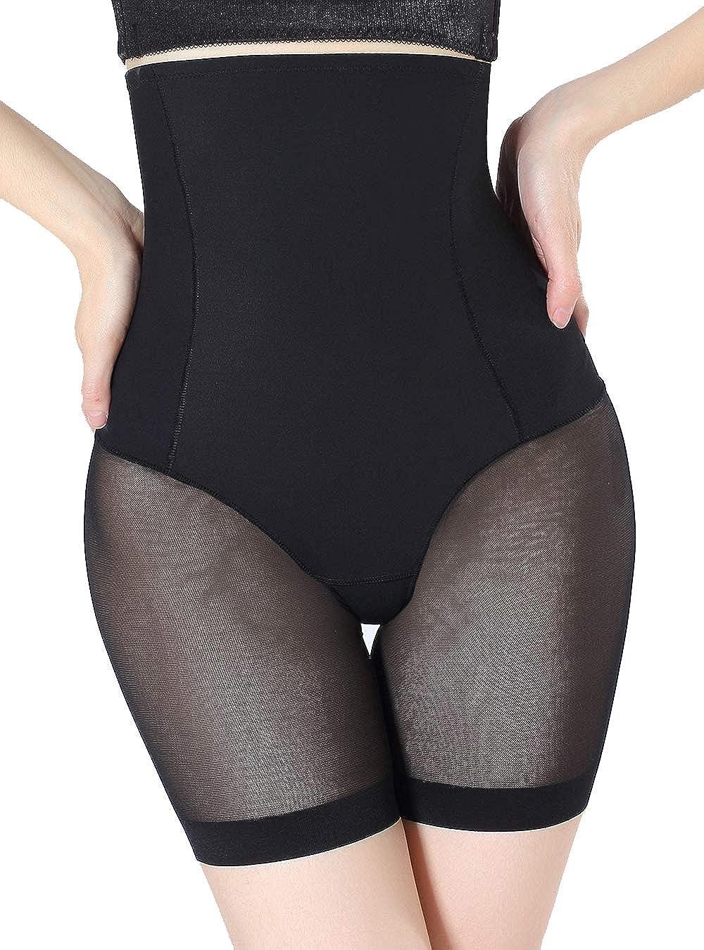 VENDAU Women High Waisted Waist Shapewear Shorts Body Shaper Underwear Tummy Control Mid-Thigh Panties Bodysuit Short