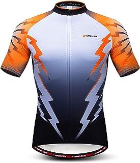 sponeed Men's Cycling Jerseys Tops Biking Shirts Short...