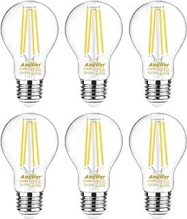 Sponsored Ad - Ascher Dimmable E26 LED Filament Light Bulbs, 60 Watt Equivalent, Dimmable E26 LED Filament Light Bulbs, Da...