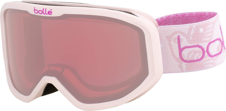 boll/é INUK Black Mint Matte//Rosy Bronze Extra Small Ski Goggles Unisex-Junior