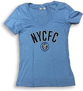 MLS New York City Football Club NYCFC V-Neck Women's T-Shirt