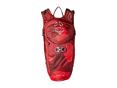 Osprey Siskin 8 (Molten Red) Backpack Bags