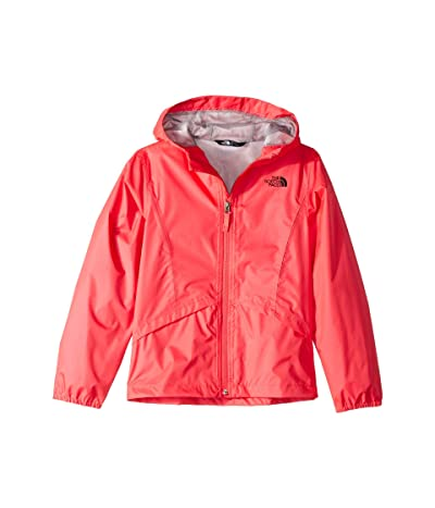 The North Face Kids Zipline Rain Jacket (Little Kids/Big Kids) (Atomic Pink) Girl