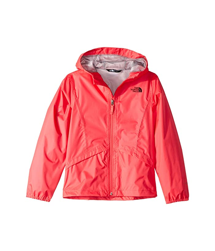 The North Face Kids Zipline Rain Jacket (Little Kids/Big Kids) (Atomic Pink) Girl's Coat