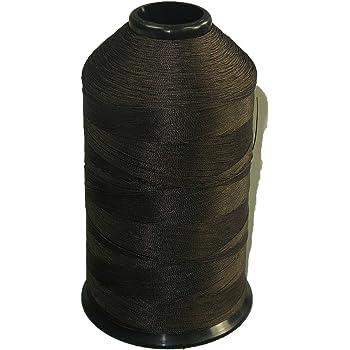 Premium Bonded Nylon Sewing Thread #69 Tex 70 8oz 3000 Yards Dark Brown