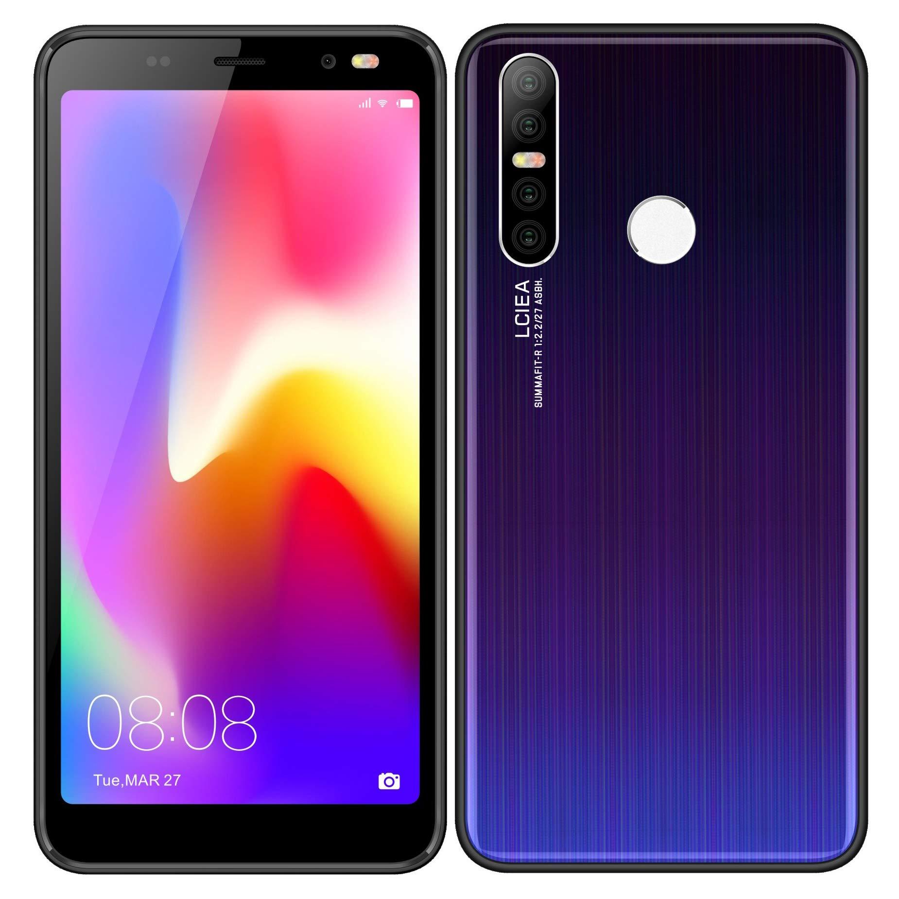 Móviles y Smartphones Libres, 5.0 Pulgadas Android GO Teléfono (5.0MP Cámara,Teléfonos binarios con Tarjeta Doble ,GPS,WiFi,Bluetooth) (P17-negro): Amazon.es: Electrónica
