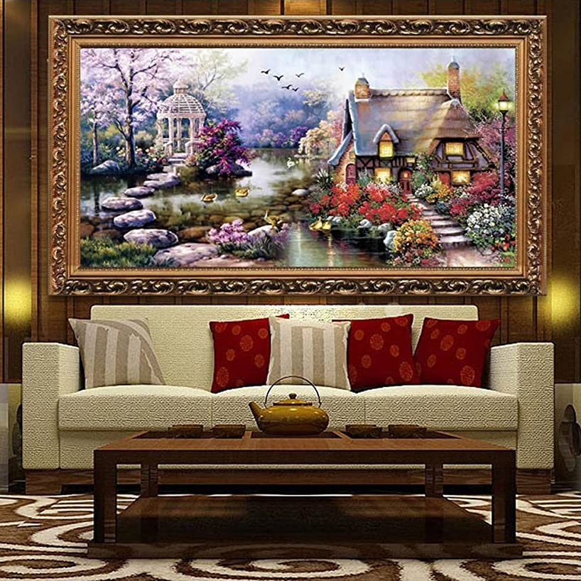 Docooler? Cross Stitch DIY Handmade Needlework Set Embroidery Kit Precise Printed Big Tree Pattern Cross-Stitching 120 * 57cm Home Decoration (H11781)