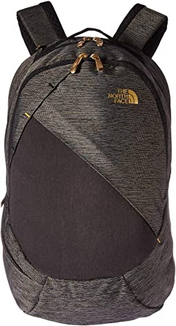 572ae9fda5 The north face isabella backpack tnf black heather 24k gold ...