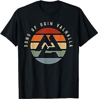TRIPLE Corno di Odino Kids T-shirt Vichinghi Dio MITO Germanico-norrena