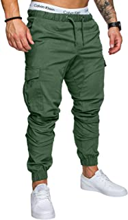 REPUBLIX Herren Cargo Jogger Chino Hose Pants Mit Stretch R0701