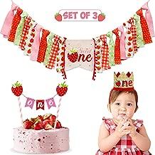 strawberry shortcake first birthday