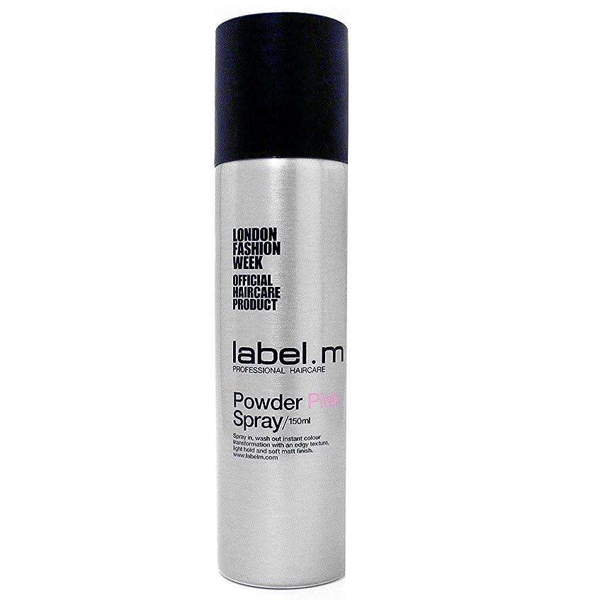 生命体粒けがをするLabel.M Professional Haircare ラベルMパウダーピンクの5オズ(150ミリリットル)をスプレー 5オンス