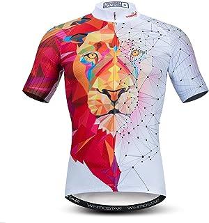 Weimostar 3D Fahrradtrikot Männer Fahrradtrikot Fahrradoberteil Atmungsaktiver Sommer