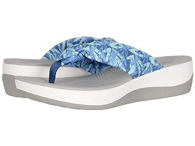 Clarks Arla Glison (Blue/Mint Floral Textile) Women