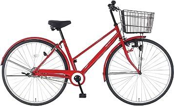 C.Dream(シードリーム) アクアシティ AA71 27インチ自転車 シティサイクル レッド 100%組立済み発送